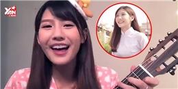 """Cô gái ''Hao xiang ni'' lại gây """"sốt"""" với bản cover hát về cha"""