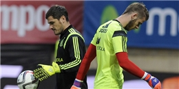 HLV Tây Ban Nha chưa biết chọn De Gea hay Casillas bắt chính