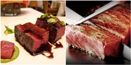Bật mí những điều bạn chưa biết về lát thịt bò Kobe đắt đỏ