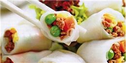 Bánh ướt thịt nướng món ngon không thể bỏ qua ở miền Trung