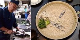 Món ăn đặc biệt chỉ 12 đầu bếp tại Nhật Bản có thể chế biến