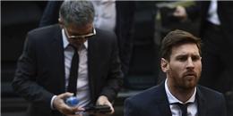 Messi cúi rạp đầu vì bị chỉ trích khi ra tòa vụ trốn thuế