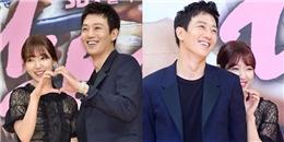 yan.vn - tin sao, ngôi sao - Park Shin Hye e thẹn nép sau Kim Rae Won