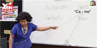 Cô giáo Thái Lan  bá đạo  trở lại với bài học tiếng Anh  hại não