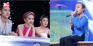 Dù mắc lỗi  nấc cụt , Hồ Văn Cường vẫn lấy nước mắt khán giả  ngon lành
