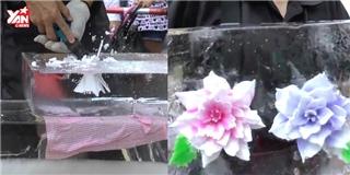 Trố mắt với tuyệt tác  hoa trong đá  của người Nhật