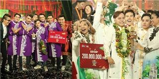 Khán giả bất ngờ với cái kết chung cuộc của  Cười xuyên Việt - Tiếu lâm hội