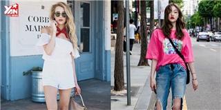 Loạt street style từ đơn giản đến phá cách của giới trẻ thế giới