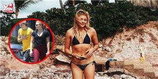 Bạn gái Brooklyn Beckham và vòng eo... vuông nổi tiếng thế giới