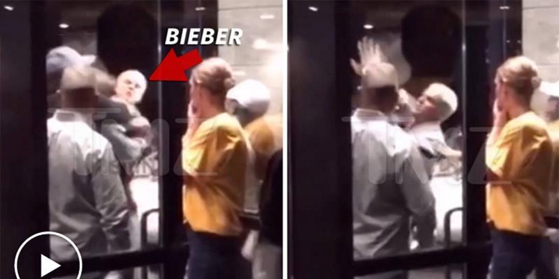 yan.vn - tin sao, ngôi sao - Justin Bieber đánh nhau với người to gấp đôi mình và bị vật xuống đất