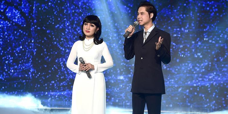 Ngọc Sơn lần đầu dìu dắt Hà Vân trên sóng truyền hình