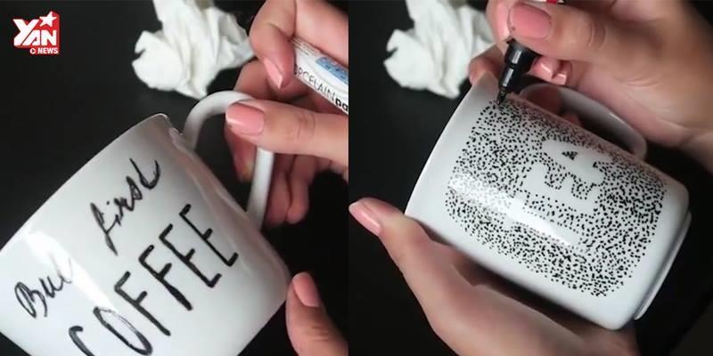 """Tự tay thiết kế những mẫu li sứ """"made by tui"""" cực độc"""