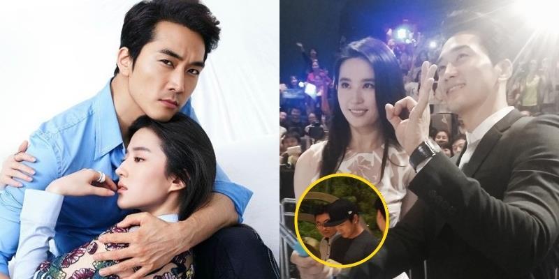 yan.vn - tin sao, ngôi sao - Giữa tin đồn chia tay, Song Seung Hun bí mật đến thăm Lưu Diệc Phi