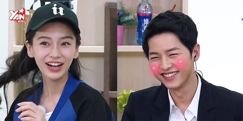 """Vợ chồng Huỳnh Hiểu Minh - Angela Baby khiến """"đại boss"""" đỏ mặt"""