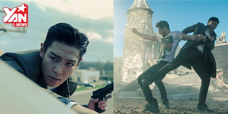 """Fan choáng ngợp với teaser phim mới quá """"khủng"""" của T.O.P"""
