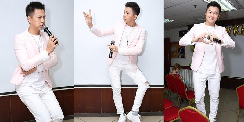 """yan.vn - tin sao, ngôi sao - """"50 sắc thái"""" cực khó đỡ của Ngô Kiến Huy khi mừng tuổi mới cùng fans"""