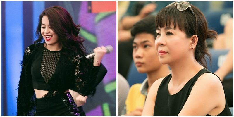 yan.vn - tin sao, ngôi sao - Mẹ Hoàng Thùy Linh ngắm nhìn con gái trên sân khấu không rời mắt