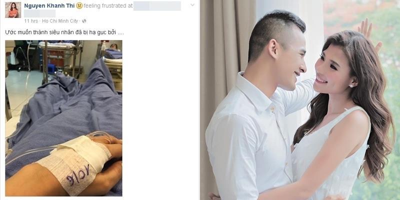 Khánh Thi bất ngờ nhập viện khiến fan lo lắng
