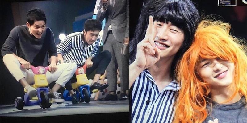 yan.vn - tin sao, ngôi sao - Song Joong Ki lái xe 3 bánh, bất ngờ giả gái khiến fan rụng tim