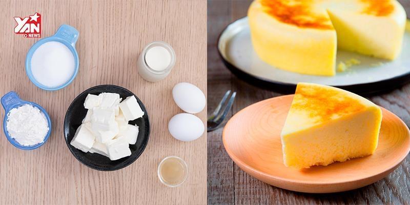 Làm bánh kem phô mai chuẩn Nhật Bản chỉ với nồi cơm điện