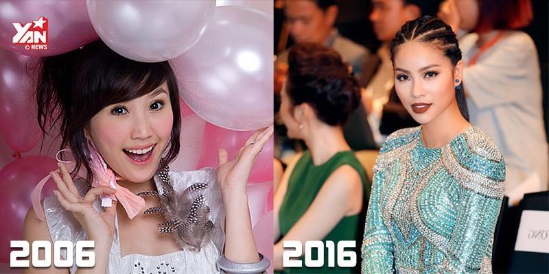 Tiêu chuẩn nhan sắc phái đẹp Việt đã thay đổi thế nào sau 10 năm?