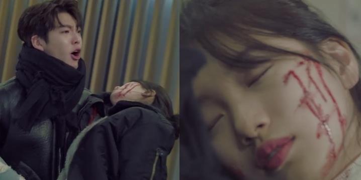 yan.vn - tin sao, ngôi sao - Suzy bê bết máu trong phim mới khiến khán giả tò mò