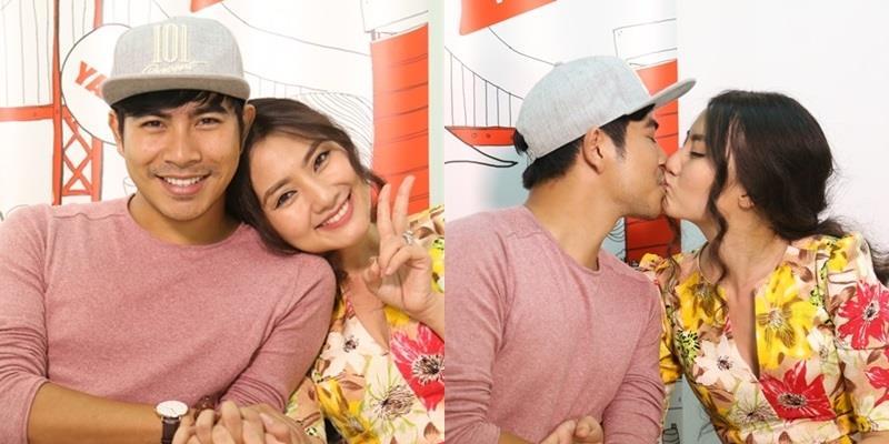 yan.vn - tin sao, ngôi sao - Thanh Bình, Ngọc Lan hôn nhau đắm đuối trước hàng triệu fans