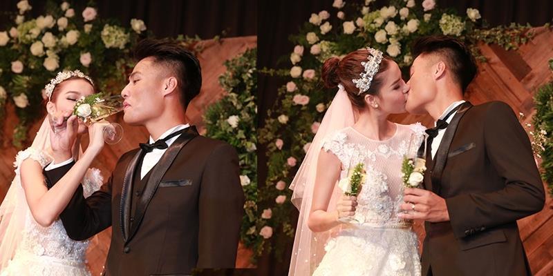 """yan.vn - tin sao, ngôi sao - Mạc Hồng Quân ngọt ngào trao nụ hôn kiểu Pháp cho """"cô dâu"""" Kỳ Hân"""
