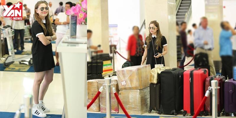 yan.vn - tin sao, ngôi sao - Thanh Thảo khệ nệ mang 200kg hành lí ra Hà Nội chuẩn bị cho liveshow