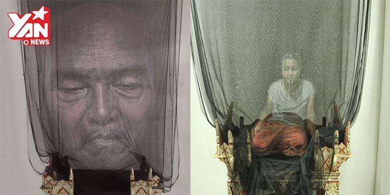 Mất ngủ với tác phẩm 3D trên màn ngủ của hoạ sĩ Thái Lan