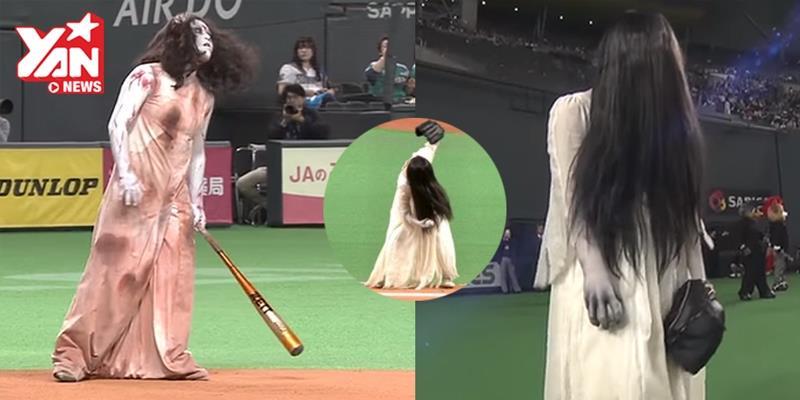 Nhật Bản tổ chức trận bóng chủ đề phim kinh dị kì lạ chưa từng có
