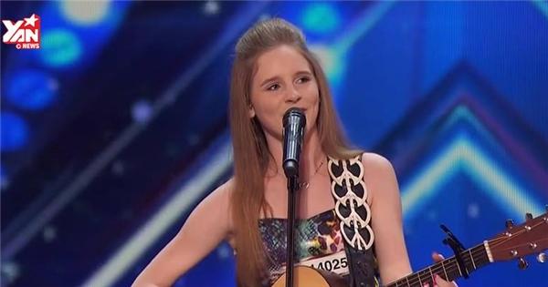 Không thể tin được đây là giọng hát của một cô bé chỉ mới 12 tuổi