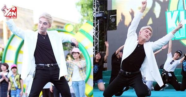 Fan phấn khích với điệu nhảy 'bẻ cong' của Sơn Tùng M-TP