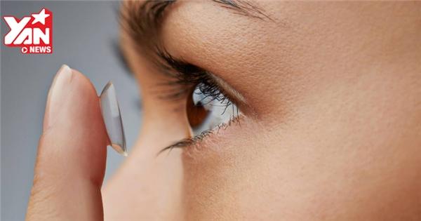 Dùng kính áp tròng đúng cách, bảo vệ đôi mắt ngày hôm nay