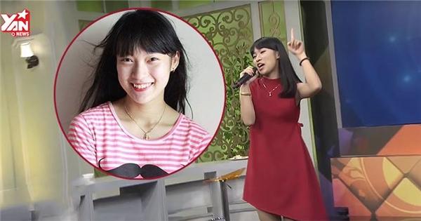 Nữ sinh nói 7 thứ tiếng trổ tài 'bắn' rap tiếng Anh trên sóng truyền hình