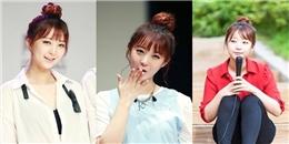 Nếu muốn thử tóc búi cao thời trang, tham khảo các sao Kpop sau!