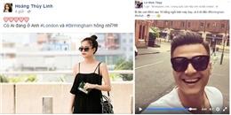 yan.vn - tin sao, ngôi sao - Hoàng Thùy Linh và Vĩnh Thụy bí mật ra nước ngoài hẹn hò?