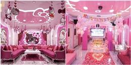 'Ngập ngụa' trong phòng karaoke dành cho 'fan' Hello Kitty tại Sài Gòn
