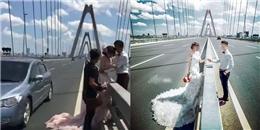 Những bộ ảnh cưới 'đẹp bất chấp tính mạng' thế này, liệu có đáng?
