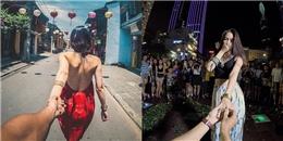 Thích thú với bộ ảnh 'Theo em đi khắp thế gian' phiên bản Việt