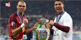 Bồ Đào Nha vô địch Euro 2016 nhờ 'vận đen' Ronaldo