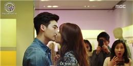 """W - Two Worlds tập 2: Han Hyo Joo """"đi bụi"""", tát & hôn Lee Jong Suk"""