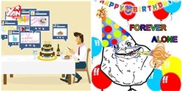 Hội FA sẽ hết tủi vì ít nhất vẫn còn Facebook chúc mừng sinh nhật bạn