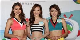 """""""Tròn mắt"""" với dàn thí sinh hoa hậu Hong Kong xinh như mộng"""