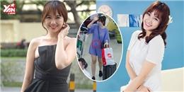 Nhìn lại loạt váy áo giấu bụng kì lạ của Hari Won