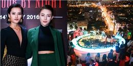 Lê Hà, Kim Chi The Face nổi bần bật tại sự kiện VIP của Chill Sky Bar