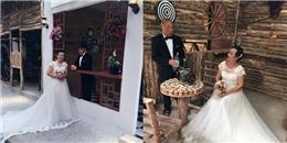 Ảnh cưới của cặp đôi U80 ở Lào Cai gây xúc động mạnh