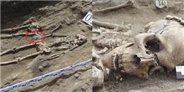 Bí ẩn 2 bộ xương nắm chặt tay nhau suốt 5000 năm trong ngôi mộ cổ
