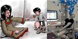 Những hình ảnh gây sốc phản ánh chính xác thực tế cuộc sống
