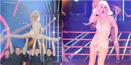 Võ Hạ Trâm 'bốc lửa' khi hóa thân thành Christina Aguilera